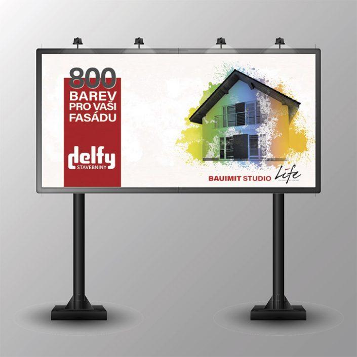 návrh billboardu