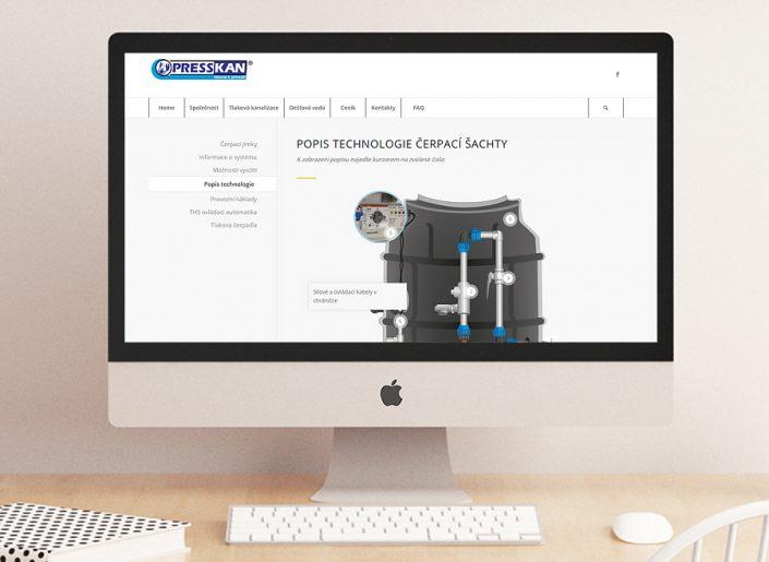 webdesign, SEO, responzivní stránky, Presskan, a.s.