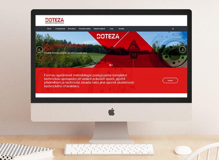 webdesign, SEO, responzivní stránky, firma Doteza