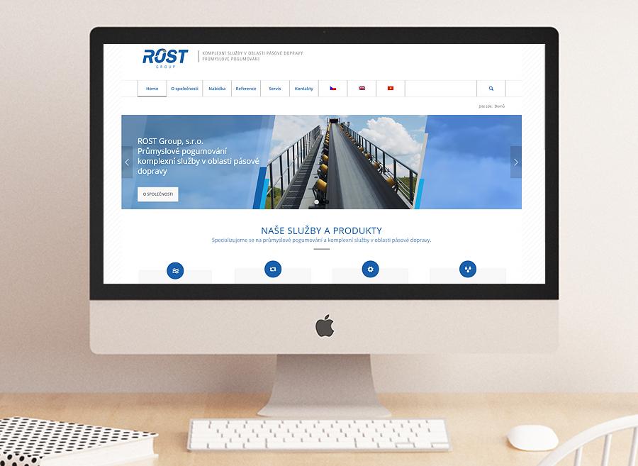 webdesign, SEO, responzivní stránky, Rost Group a.s.