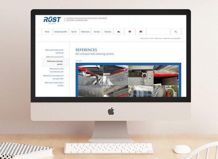 webdesign, SEO, responzivní stránky, Rost Group, a.s.